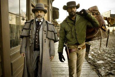 Django elszabadul - Christoph Waltz és Jamie Foxx