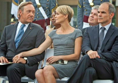 house-of-cards - kevin spacey, robin wright, michael kelly