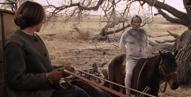 The Homesman - Hilary Swank és Tommy Lee Jones 1