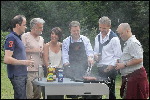 barátok, szerelmek, barbecue