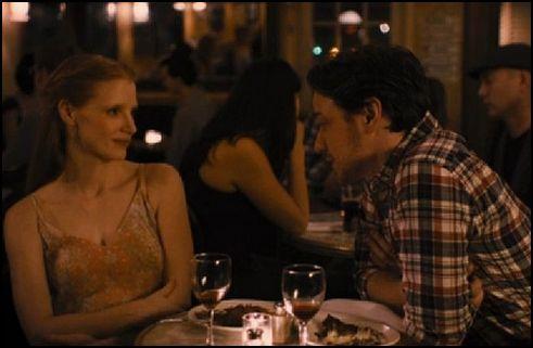 egy szerelem története a férfi - jessica chastain és james mcavoy