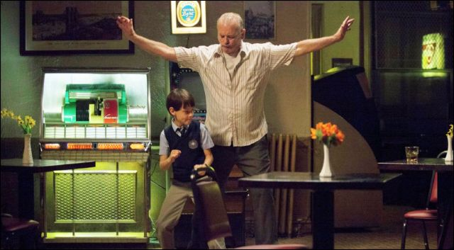 st vincent - bill murray és jaeden lieberher