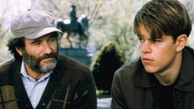 good will hunting - robin williams és matt damon