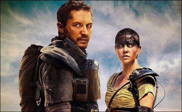 mad max - tom hardy és charlize theron