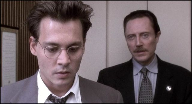 holtidő - johnny depp és christopher walken