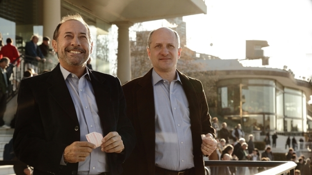 A boldogság titka - Guillermo Francella és Fabián Arenillas2