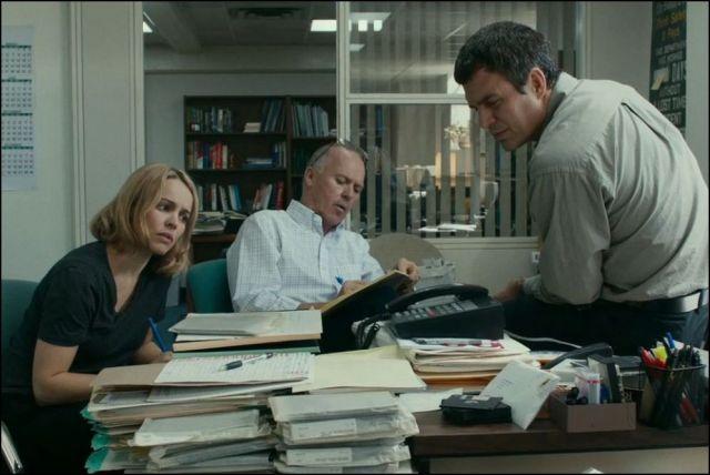 Spotlight - Rachel McAdams, Michael Keaton, Mark Ruffalo