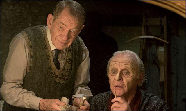 az öltöztető - sir ian mckellen és sir anthony hopkins